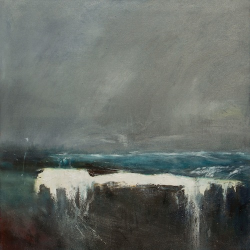 Christine Linfield The Gift of the Sea 80x80cm acrylic on canvas