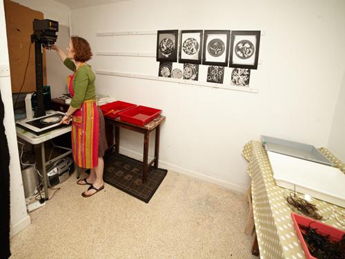 Darkroom setup