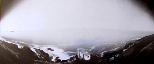 Cape Cornwall - pinhole photo