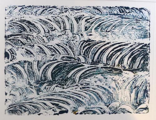 Monoprint - Susan Williams