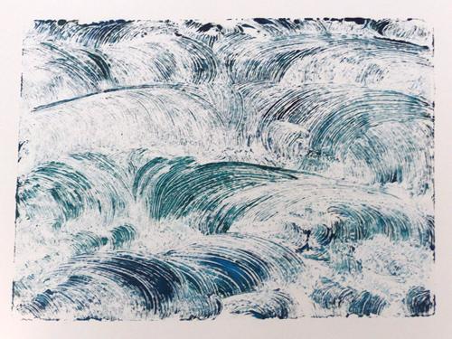 Monoprint - Susan Wuilliams