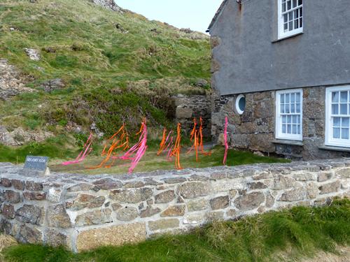 Installation at Brisons Veor - Susan Williams