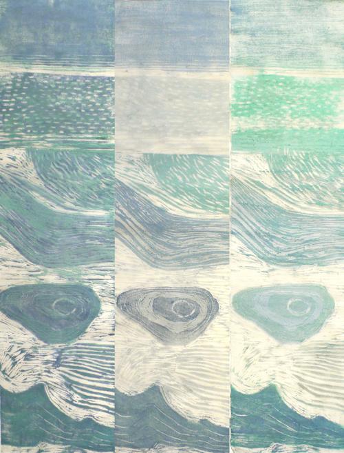 Bronwen Bradshaw - Ukiyo-e print