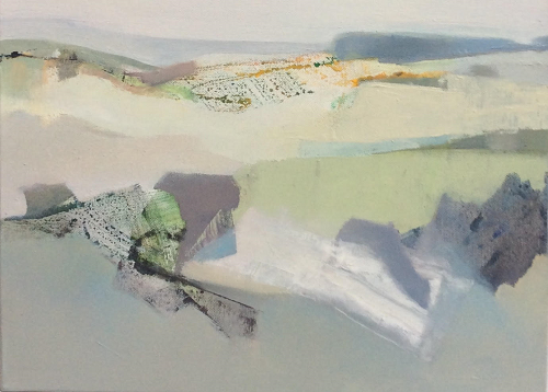 Joanna Sims Zennor Valley 215 (oil on canvas)
