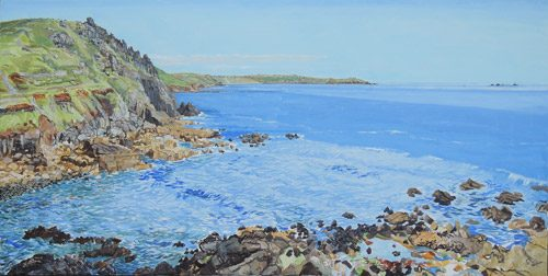 priests-cove-to-lands-end-carolyn-lamb-oil-july-2016