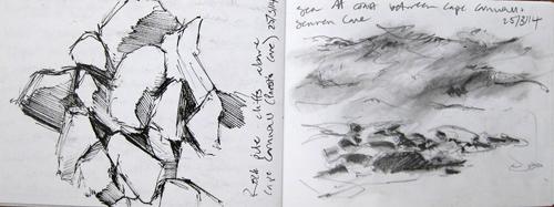 Sketchbook. Sara Dudman