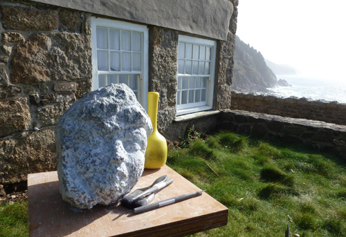 soft granite sculpture - Angela Malone