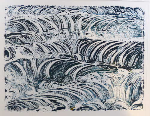 Monoprint - Susan Williams