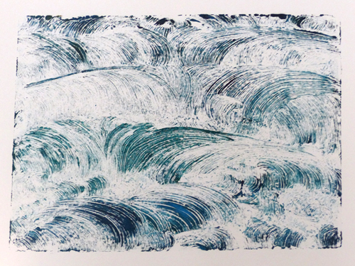 Monoprint - Susan Wuilliams
